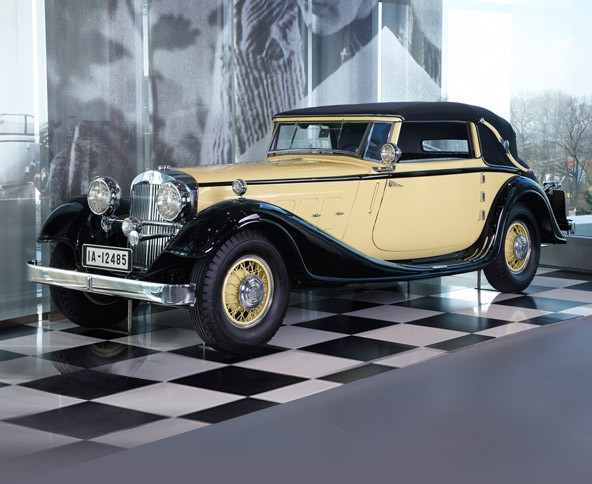 Horch 12, Type 670 sports convertible, 1932