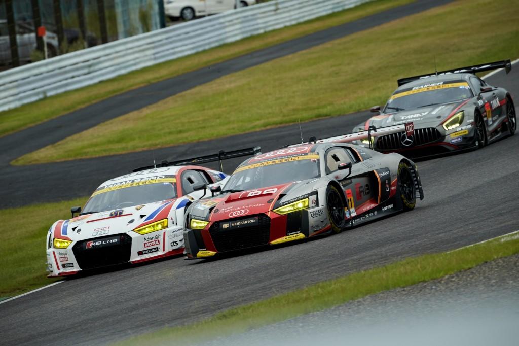 SUPER GT第6戦鈴鹿、Audi R8 LMSが6位入賞