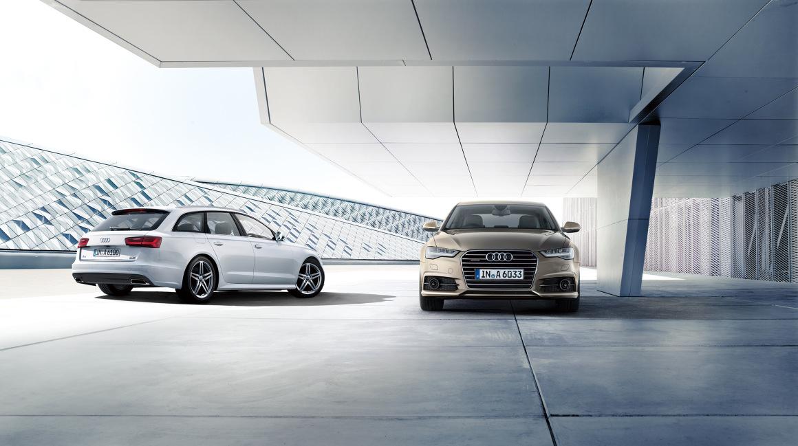 Audi A6 シリーズの装備、仕様を一部変更