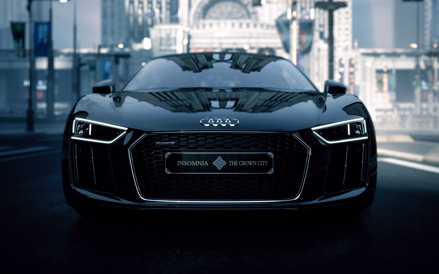 KINGS GLAIVE FINAL FANTASY XVに登場する新型 Audi R8 「The Audi R8 Star of Lucis」の一台限定販売が決定!