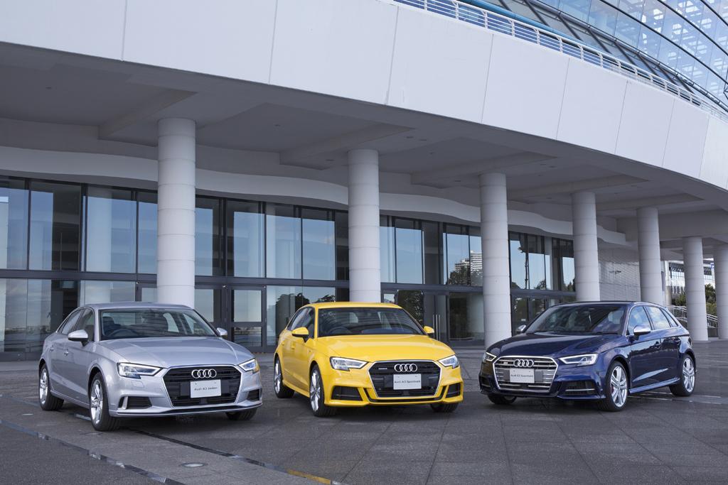 プレミアムコンパクトカーのトップランナー Audi A3/S3を商品改良