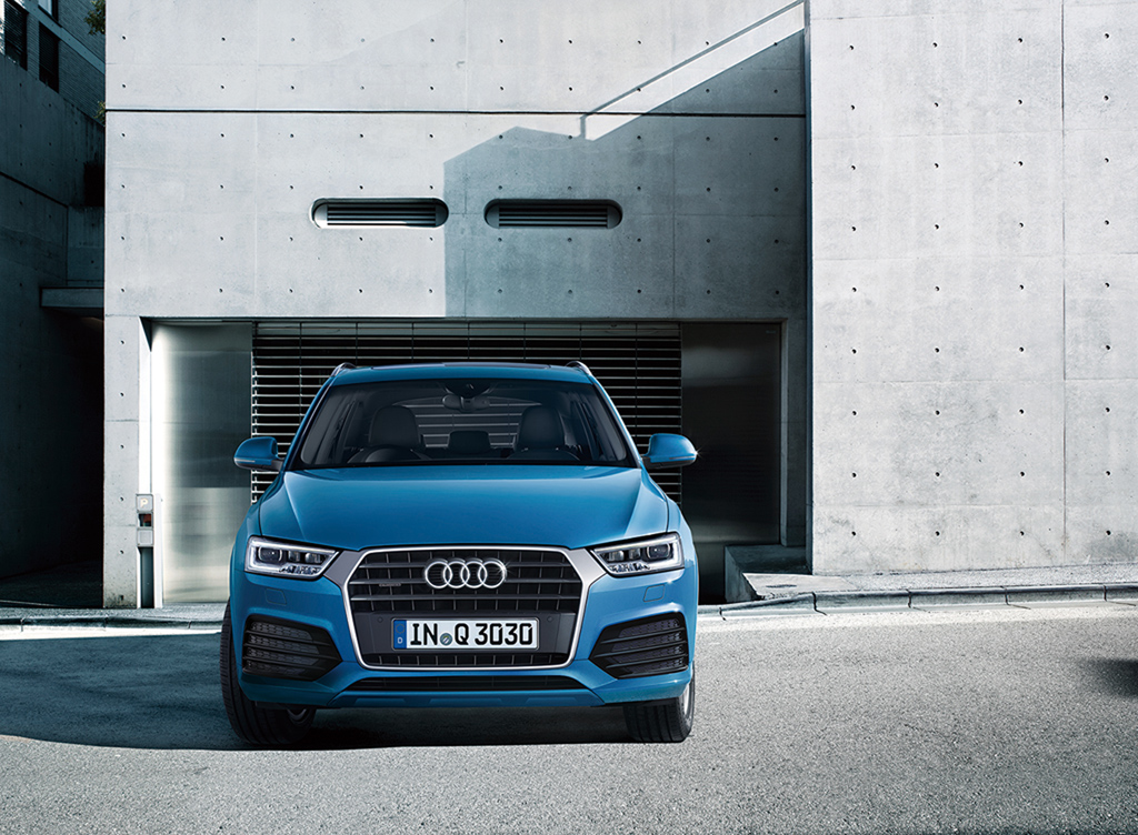 Audi Q3の仕様を一部変更