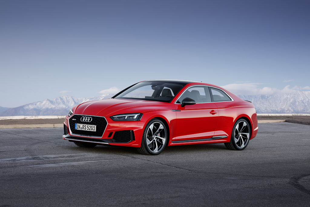 新型Audi RS 5 Coupé