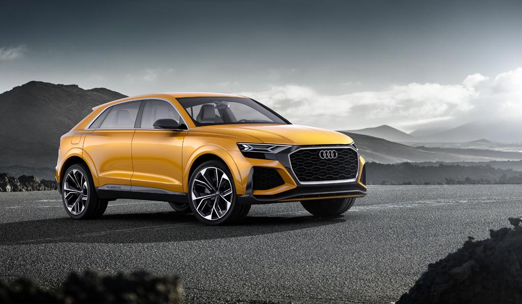 特別な才能と鍛え抜かれた資質:Audi Q8 sport concept