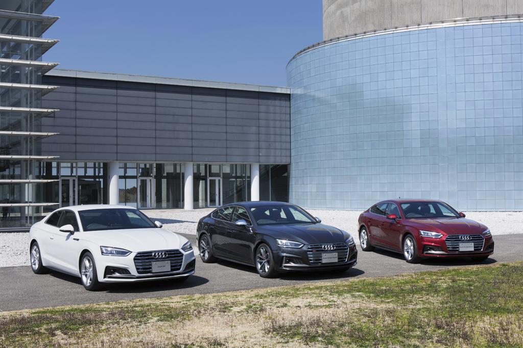 Audi A5 / S5 Coupé, Sportback, Cabrioletをフルモデルチェンジ