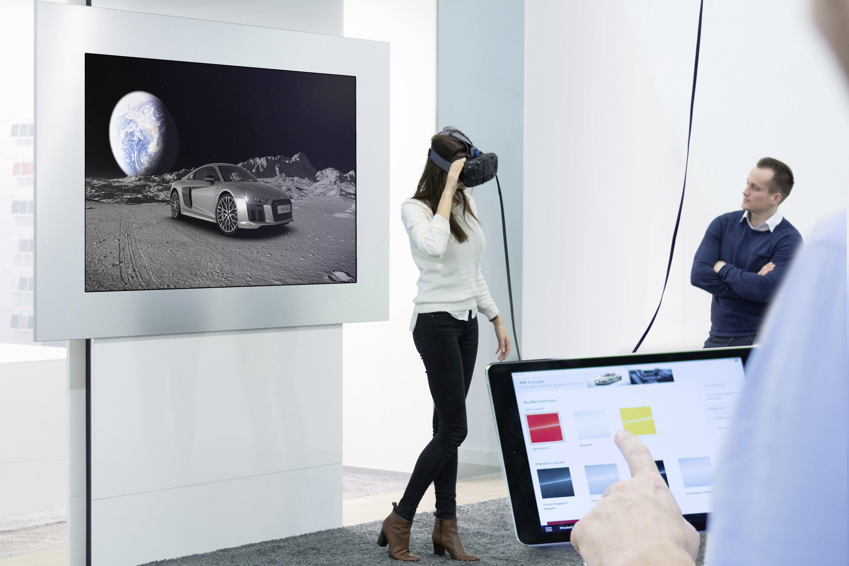 Audi VR(バーチャル リアリティ)テクノロジー体験イベントを実施