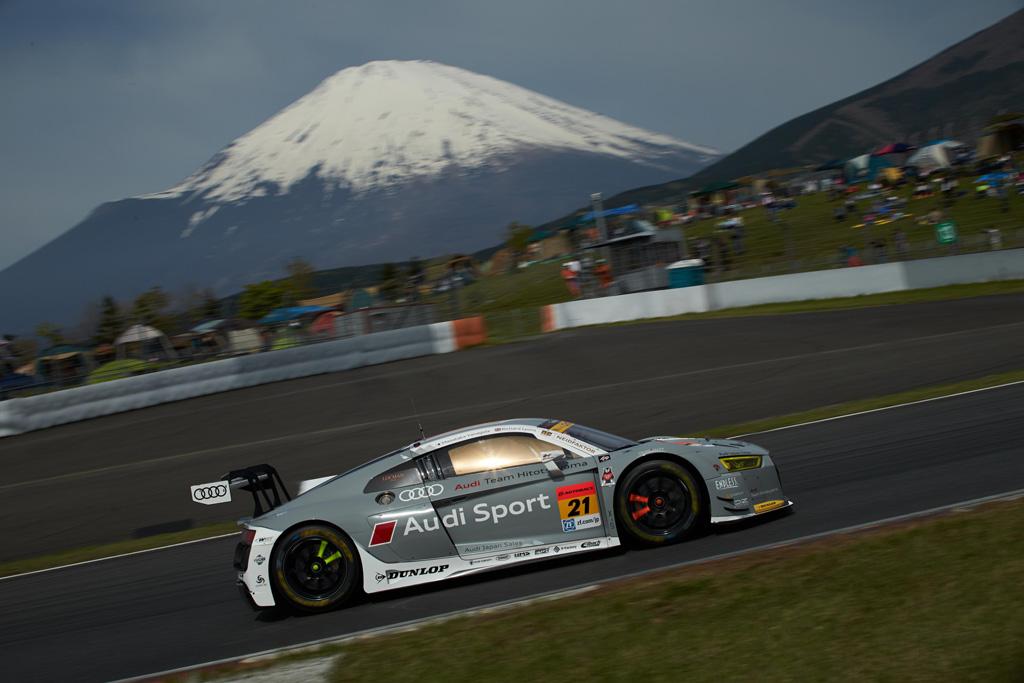 SUPER GT第2戦、2台のAudi R8 LMSは粘り強く共に完走