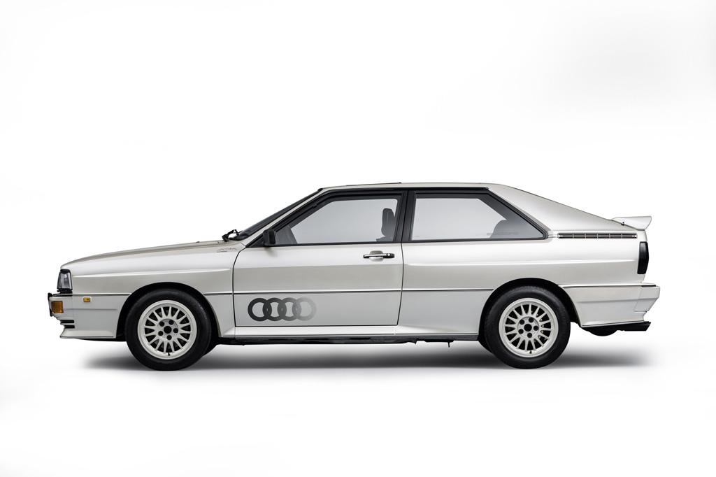 Audi quattro:栄光の歴史