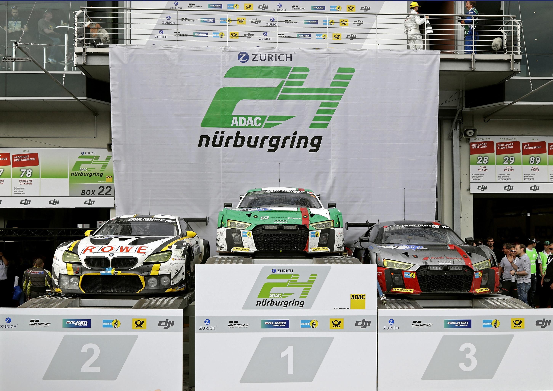 Audi R8 LMS、ニュルブルクリンク24時間レースで4度目の総合優勝