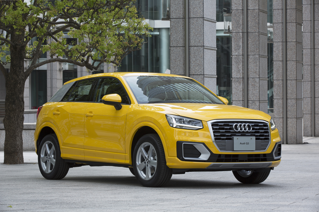 新型SUV、Audi Q2を発売 コンパクトなボディに新しいアウディの魅力を凝縮