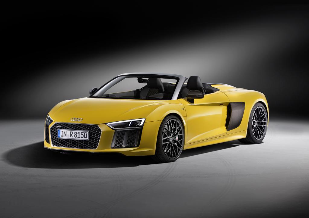 新型Audi R8 Spyderの販売を開始