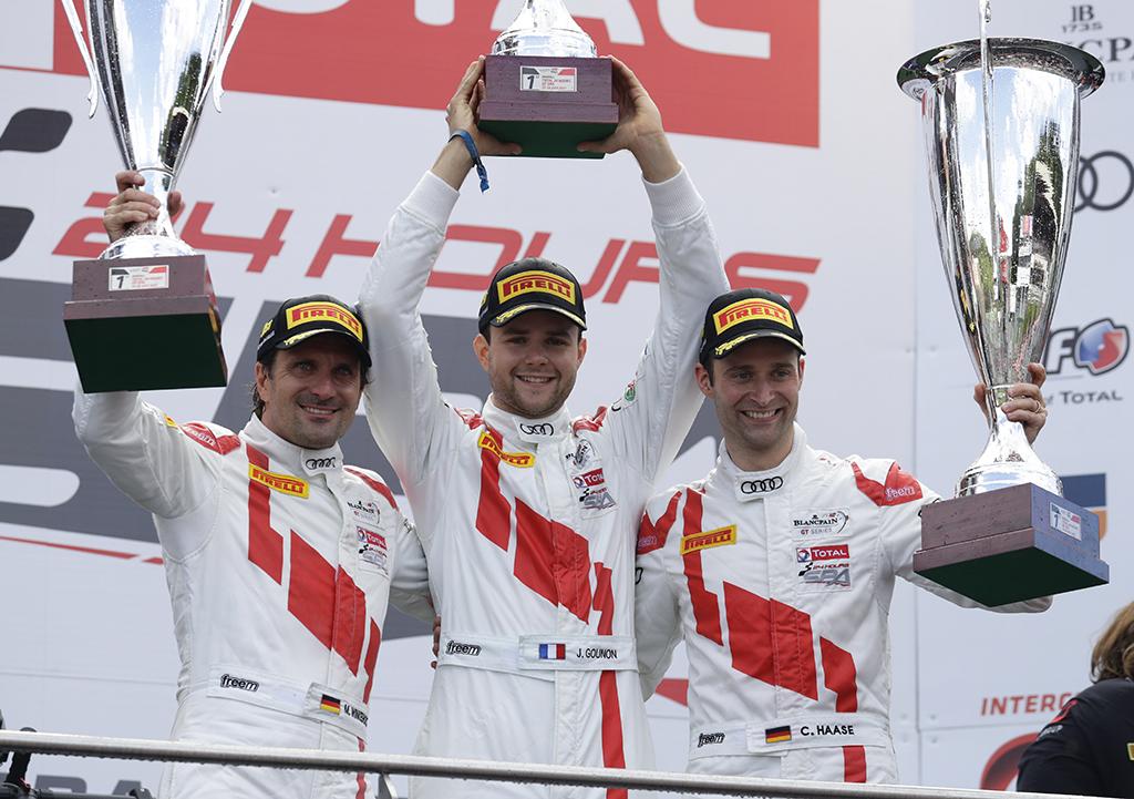Audi、スパ フランコルシャン24時間レースで、4度目の優勝を獲得