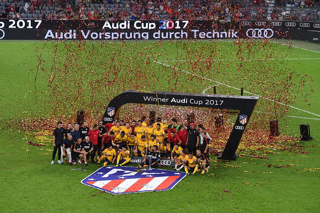 Audi Cup 2017でアトレティコ マドリードが優勝
