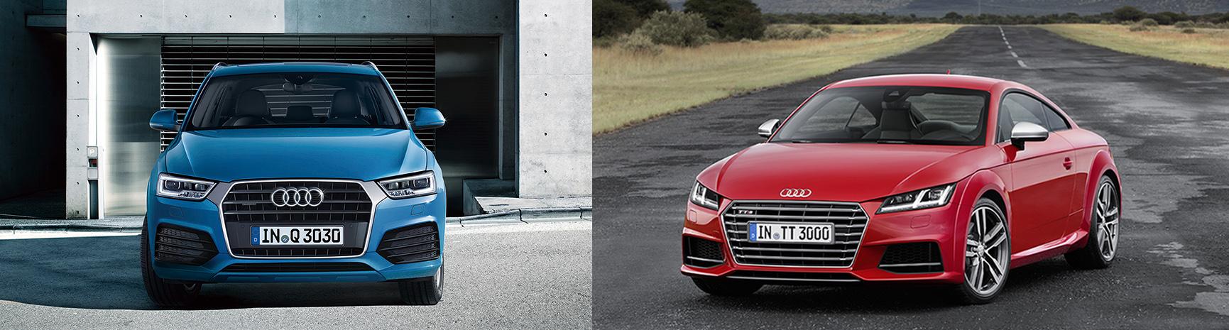 Audi Q3、Audi TTS、TTRSの仕様を一部変更