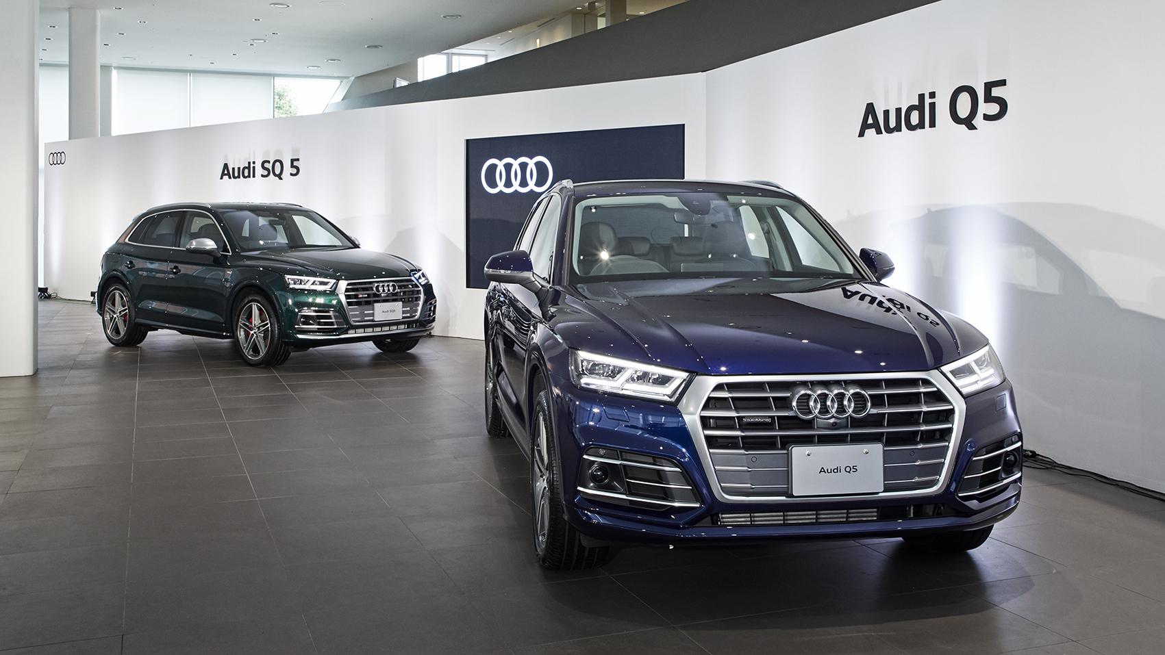 The new Audi Q5 記者発表会 Movie公開
