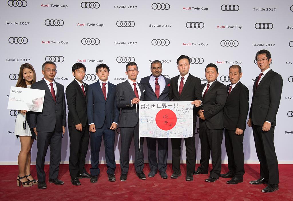 第13回 Audi Twin Cup World Championship、日本代表チームが3位入賞(テクノロジー部門 / サービス部門)