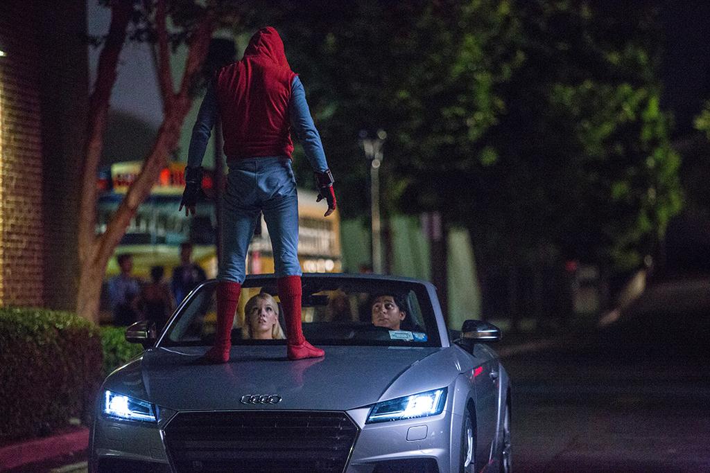 Audiの魅力が満載!『スパイダーマン:ホームカミング』日本公開に先駆け映画と連動したプロモーションを展開