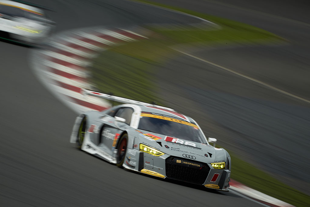 SUPER GT第5戦、Audi R8 LMSが10位入賞を果たす