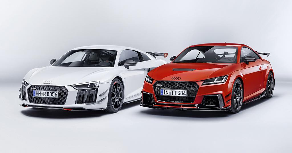 Audi Sportパフォーマンスパーツ、Audi R8 / TTのダイナミクスを強化