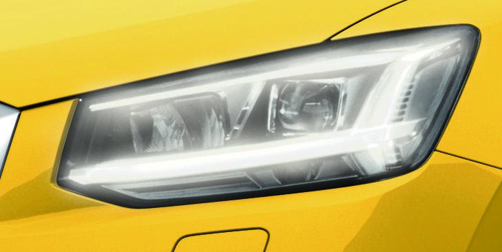 日本では初、アウディがデイタイムランニングライト(DRL)を全車標準装備
