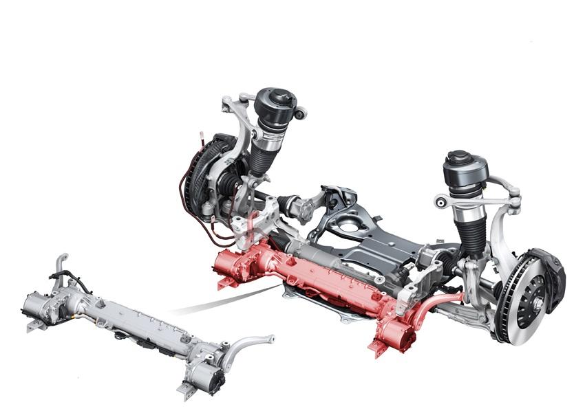 新型Audi A8のインテリジェントなランニングギヤ:Audi AIアクティブサスペンションとダイナミック オールホイールステアリング