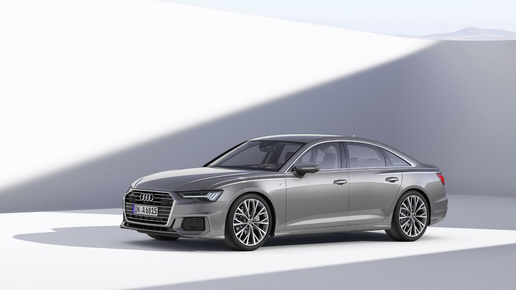 新型Audi A6 Sedan アッパーミドルセダンを革新的機能で一新