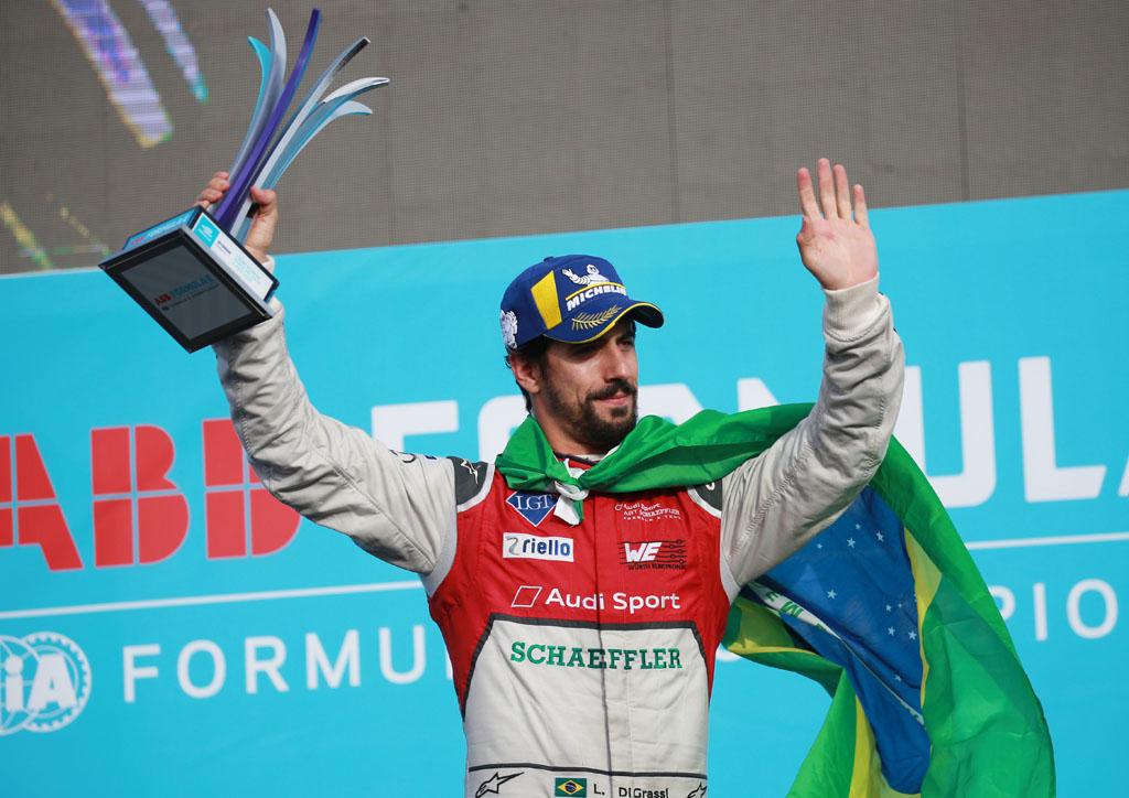 フォーミュラE第6戦で、ルーカス ディ グラッシが2位表彰台に復帰