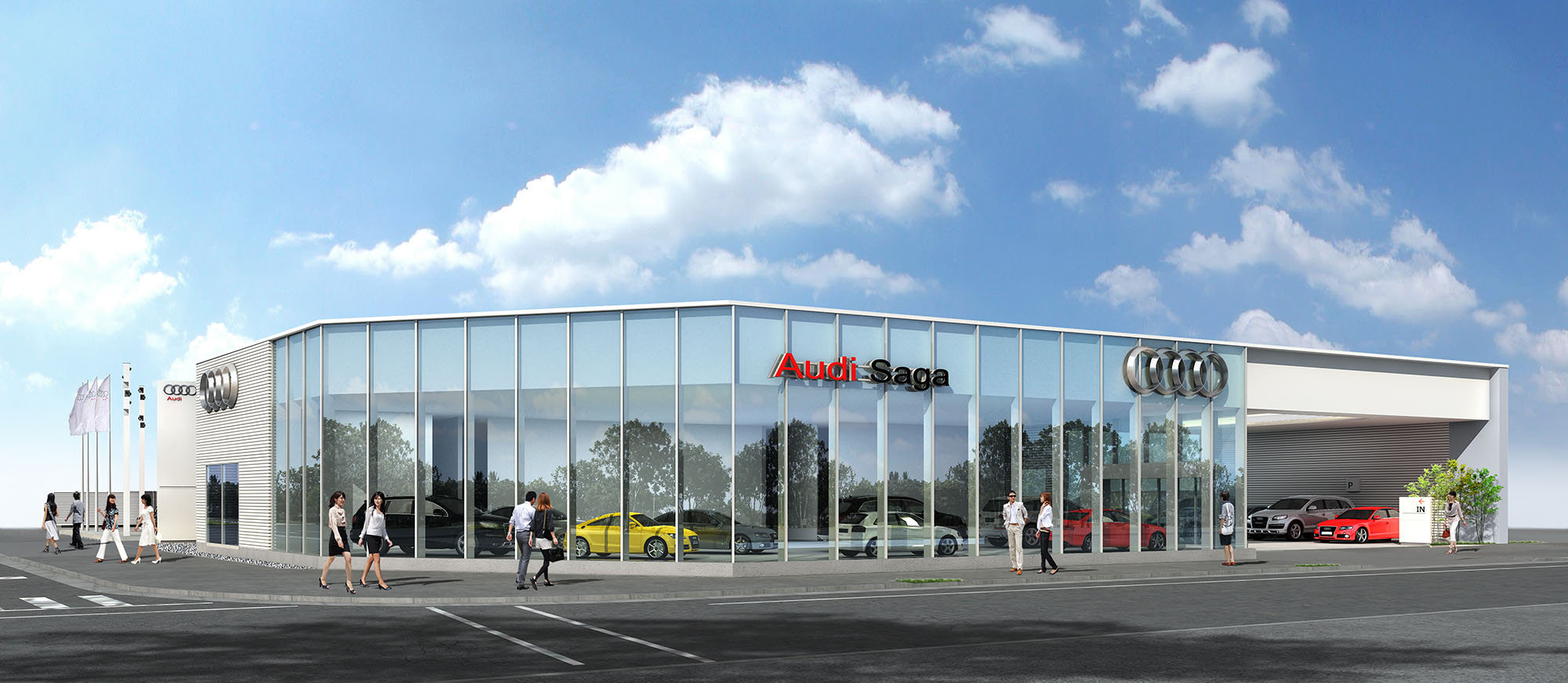 アウディ正規販売店 「Audi 佐賀」を新規オープン