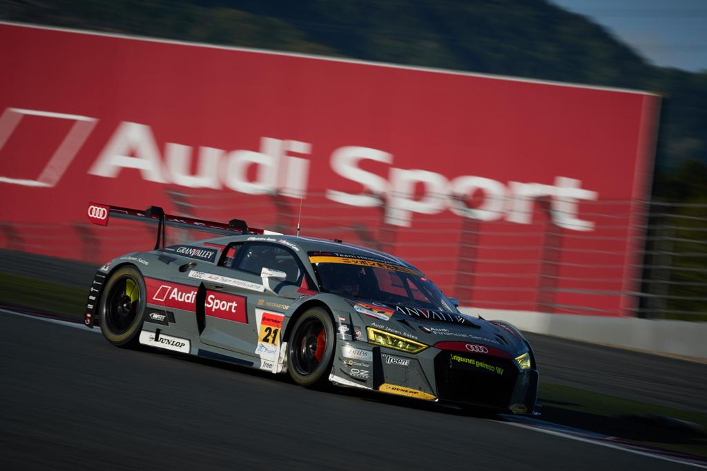 SUPER GT第2戦、Audi R8 LMSが10位入賞を果たす