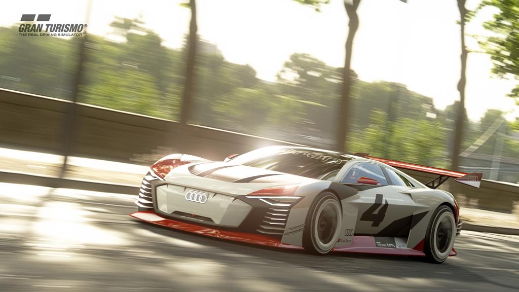 Audi e-tron Vision Gran Turismoが日本初上陸