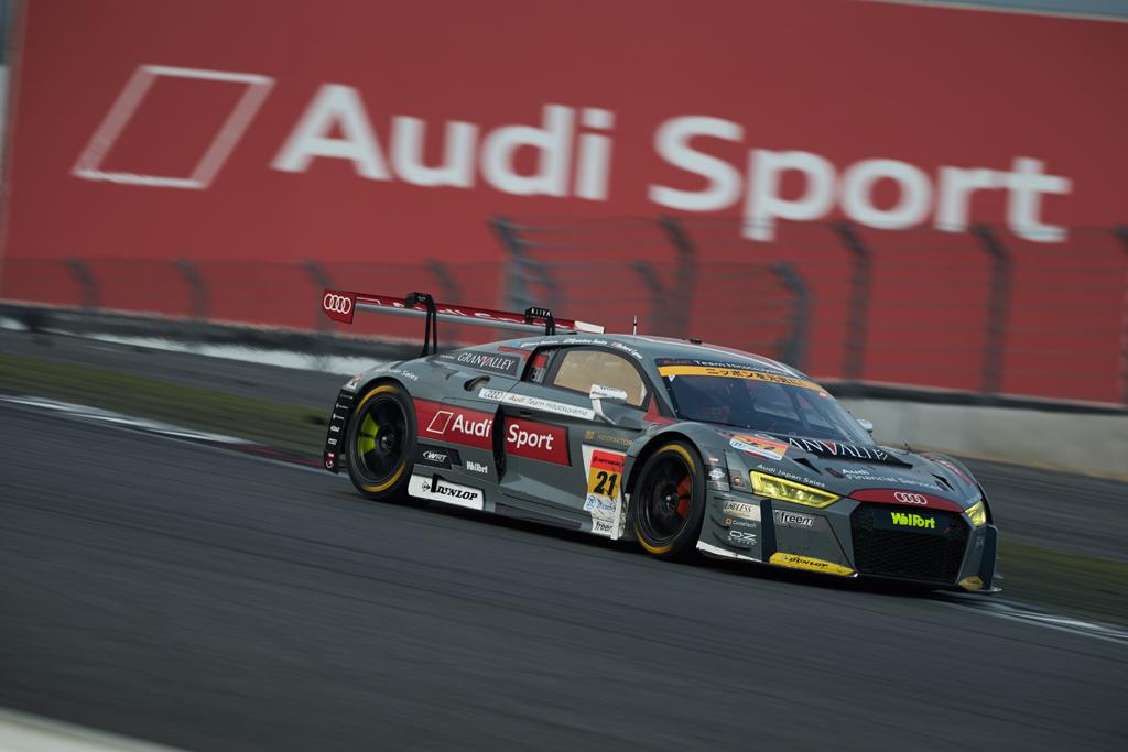 SUPER GT第5戦、Audi R8 LMSが激走するも入賞を逃す
