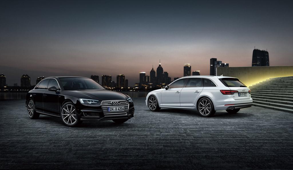 限定モデル Audi A4 tuxedo styleを発売
