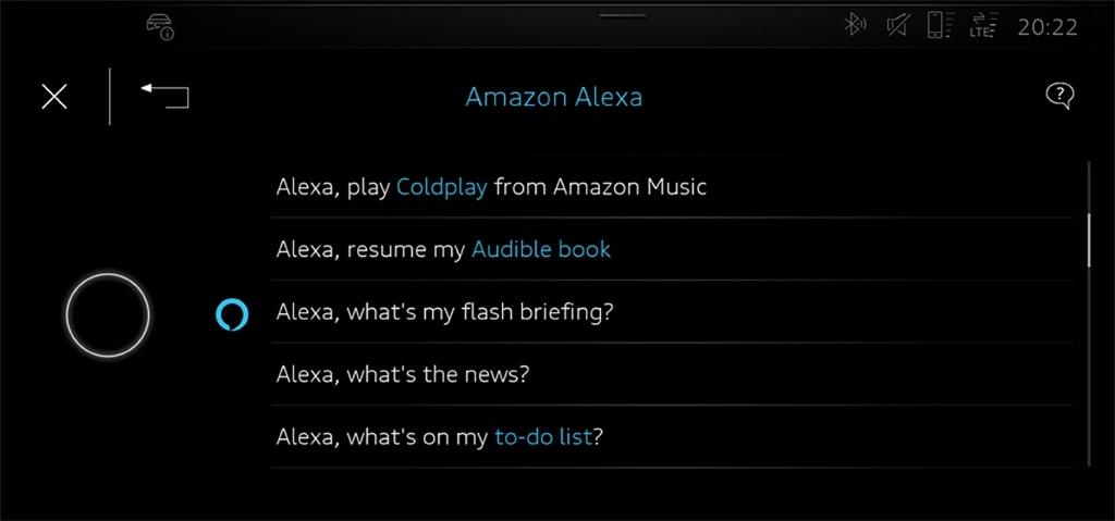 アウディ、Audi e-tronにAmazon Alexaを搭載 デジタル世界への新たな扉を開く
