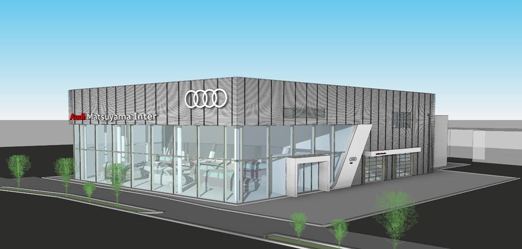 アウディ正規販売店 「Audi 松山インター」をリニューアルオープン
