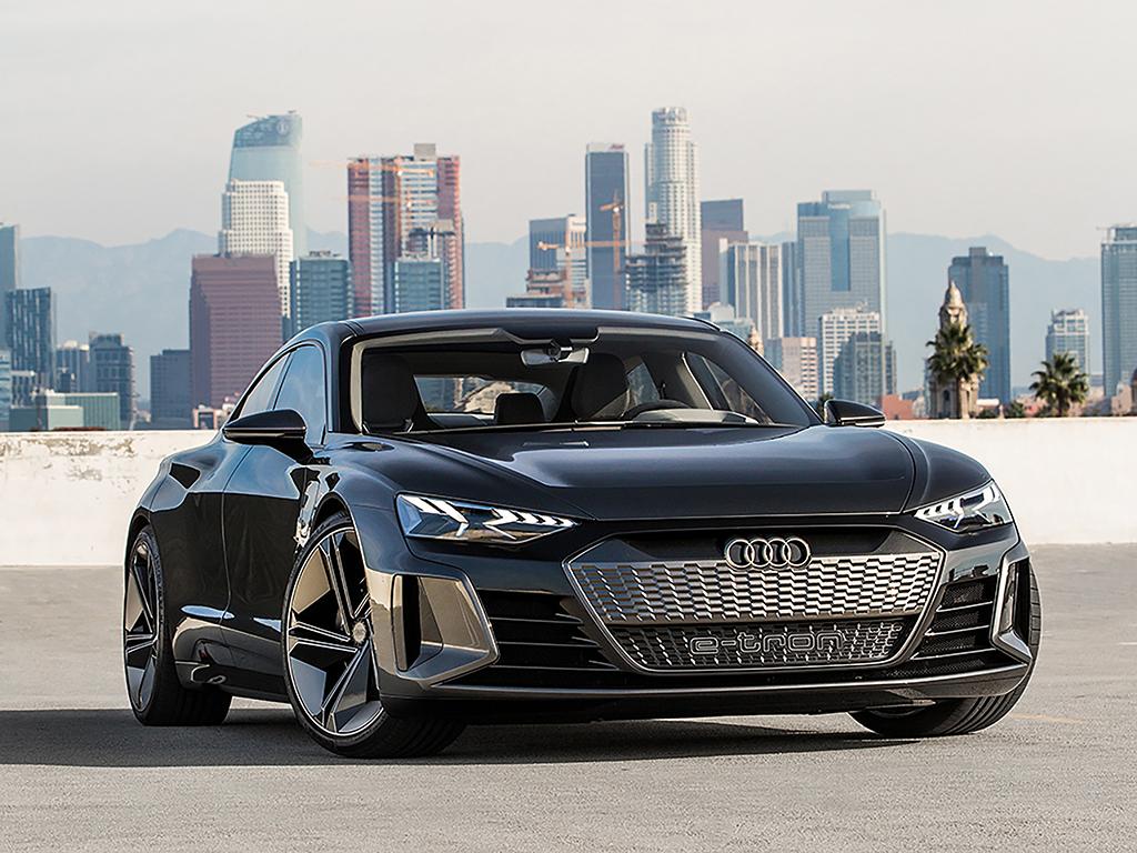 Audi e-tron GT conceptをロサンゼルスで発表