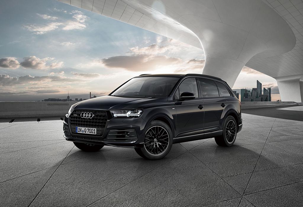 限定モデル Audi Q7 black stylingを発売