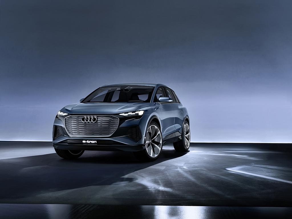 Audi Q4 e-tron concept: 未来の市販バージョンを垣間見ることができるコンセプトカー