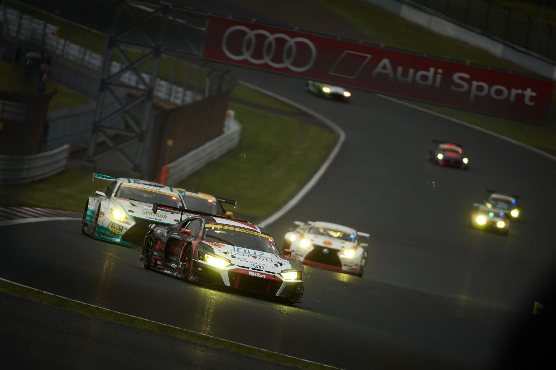 SUPER GT第2戦、Audi R8 LMSが8位入賞を果たす