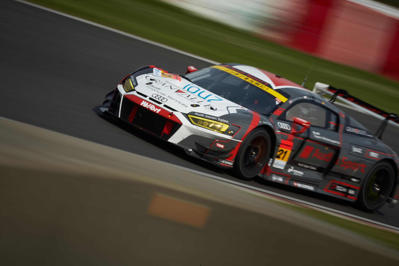 Audi R8 LMS 、SUPER GT第3戦で8位入賞を果たす