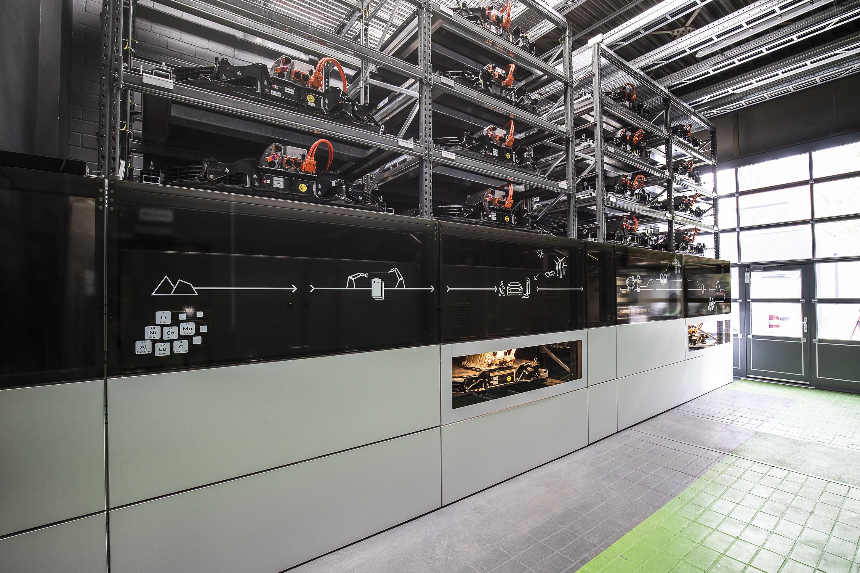 アウディ、ベルリンの「EUREF-Campus」にバッテリー蓄電ユニットを開設