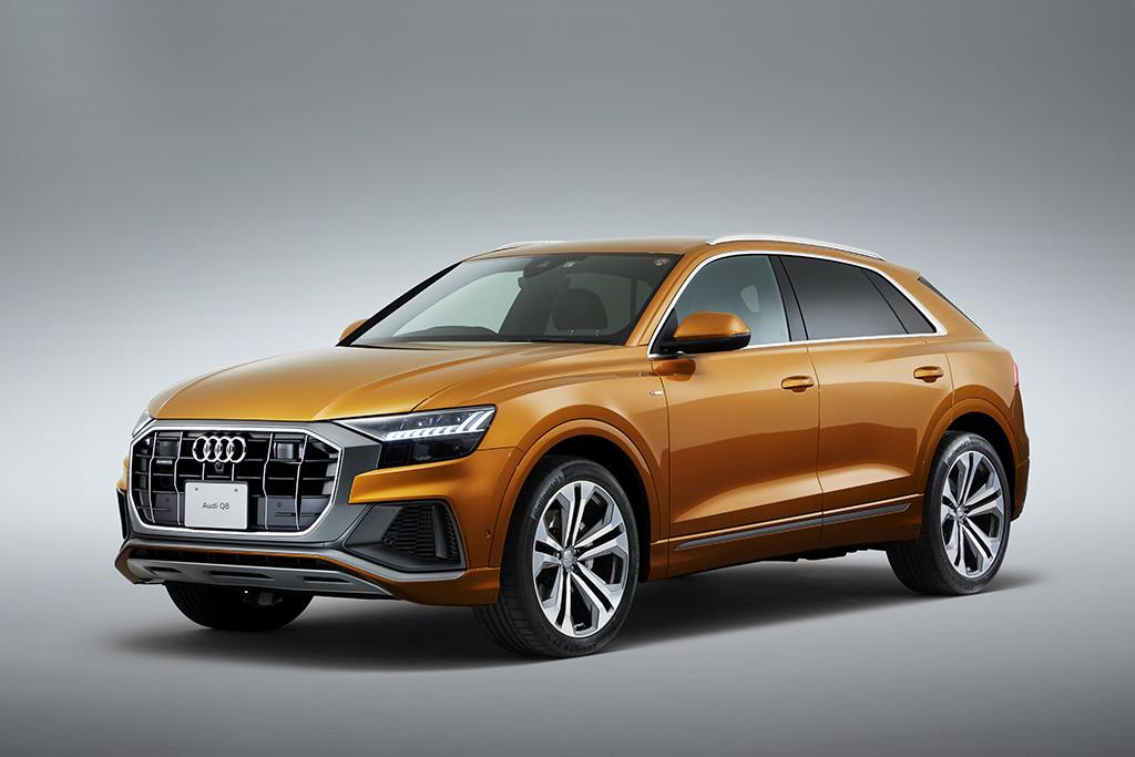 アウディ、クーペスタイルのフルサイズSUV、Audi Q8を新発売~アウディQシリーズの新たなフラッグシップモデルが日本に上陸~