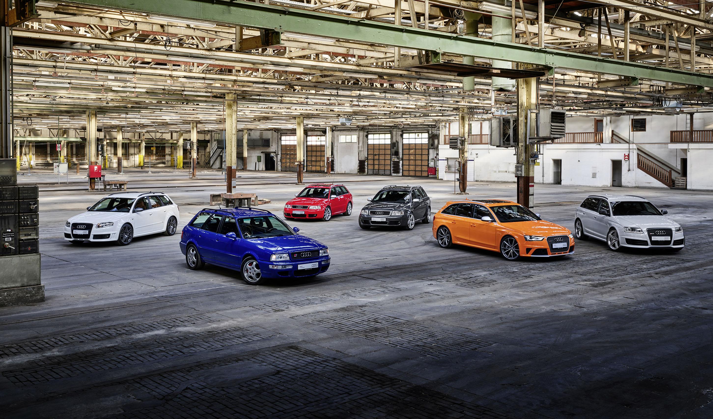 Audi Sport、アウディRSモデル誕生25周年を祝う