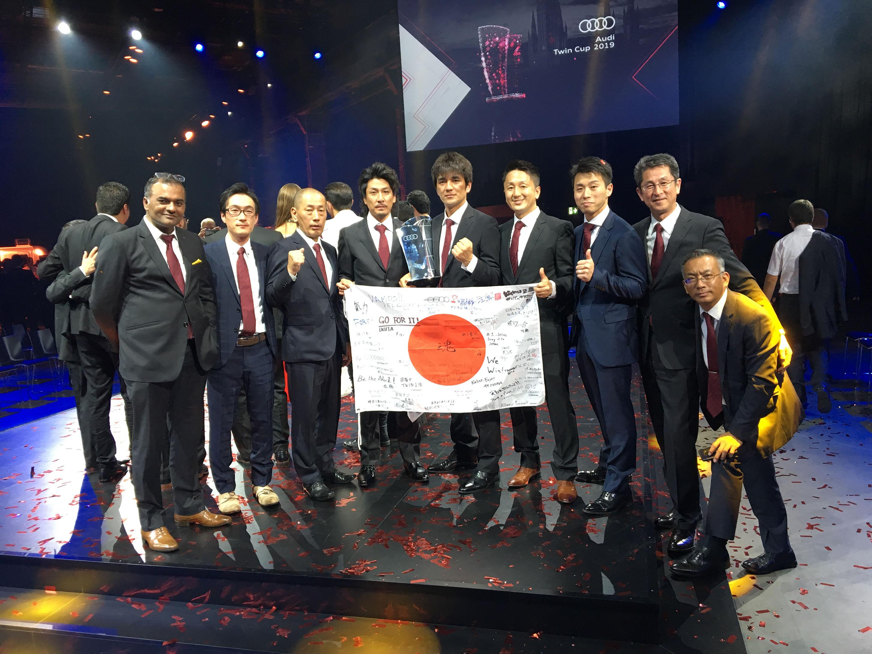 Audi Twin Cup世界大会で、日本代表チームがツイン(総合)部門で初優勝