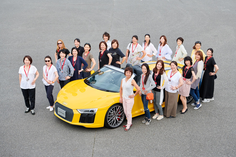 アウディ、日本初の女性向け Audi driving experience を開催