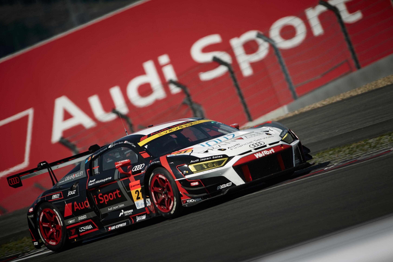 SUPER GT第5戦、Audi R8 LMSが猛暑の中完走を果たす