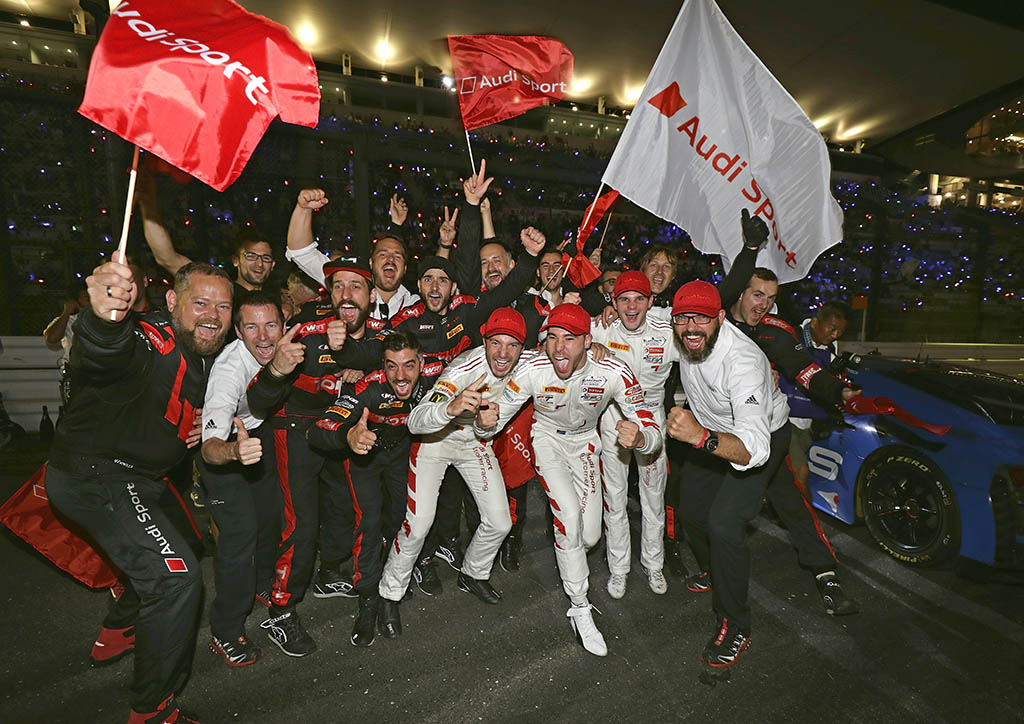 Audi R8 LMS GT3、鈴鹿10時間耐久レースで初優勝