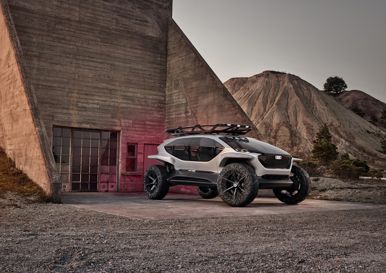 未来のオフロードモデル、Audi AI:TRAIL quattro