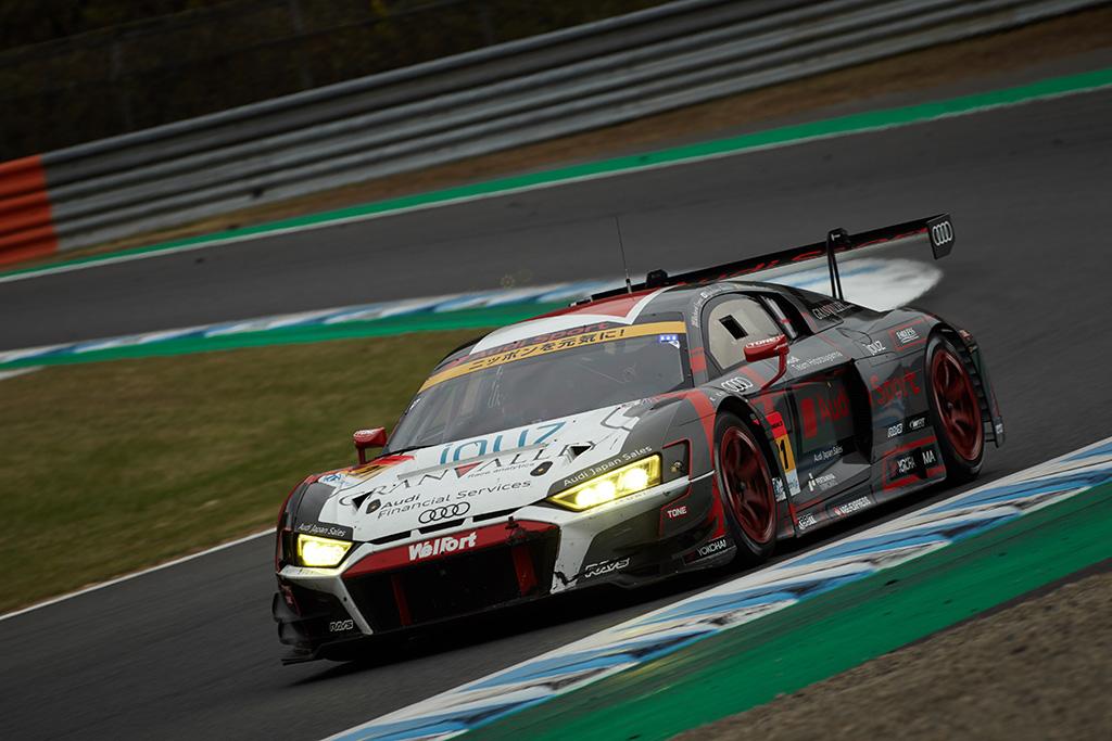 SUPER GT第8戦、Audi R8 LMSが完走でシーズンを終了