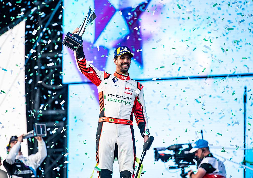 フォーミュラEシーズン開幕戦 レース1:アウディカスタマーチームが優勝 レース2:ディ グラッシが2位表彰台を獲得
