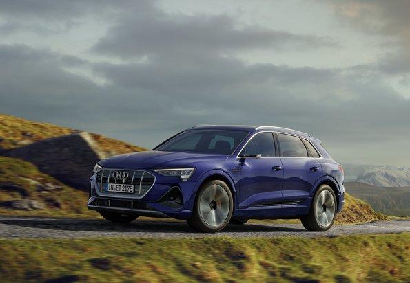 Audi e-tron:より優れた効率と長い航続距離へアップデート